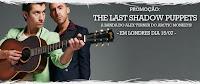 Promoção Você em Londres com a 89FM no show do The Last Shadow Puppets
