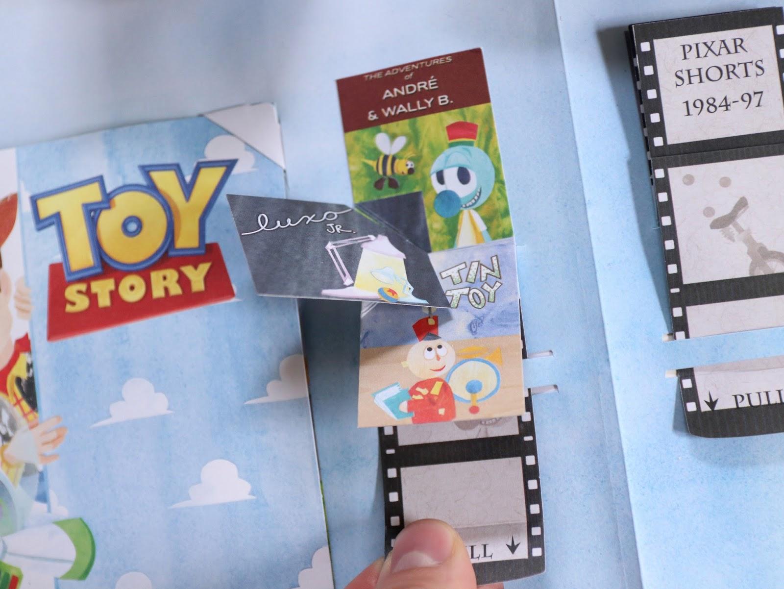 Pixar A POP-UP CELEBRATION Book Review