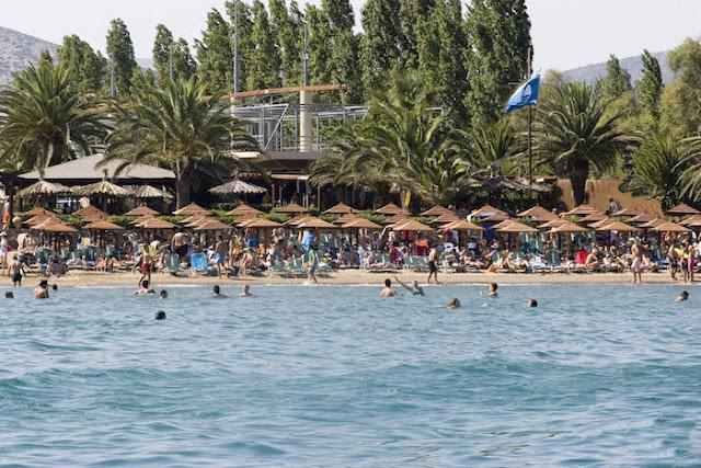 Praia Schinias, Atenas