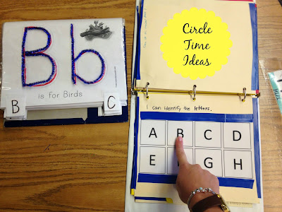 Circle Time/ Morning Meeting in an Elementary Special Education Classroom
