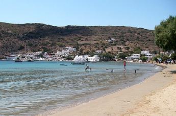 Playa de Sifnos - Islas Griegas