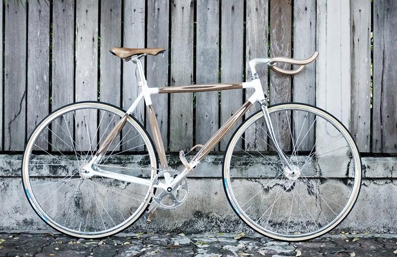 Plywood Bikes Handlebars And Rack By Dots Design Studio