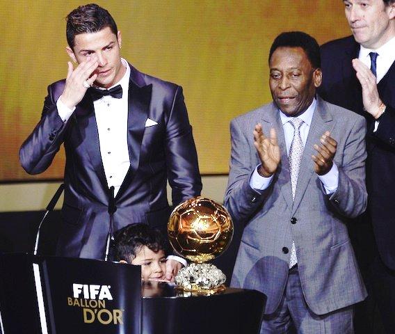"""Pelé: """"El mejor jugador del mundo es Cristiano Ronaldo"""""""