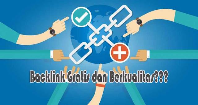 Cara Mendapatkan Backlink Gratis, Banyak dan Berkualitas