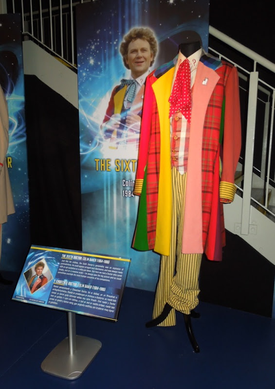 Colin Baker Sixth Doctor Who costume