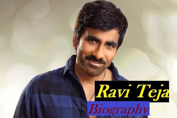 Ravi Teja Biography, Height, Weight, Age, Wiki, Affairs
