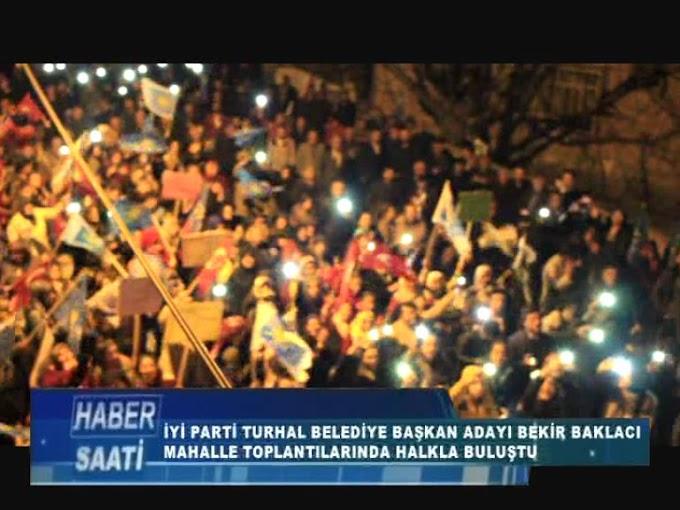 BAKLACI MAHALLE TOPLANTILARINA EMEK MAHALLESİ VE ÇEVRİKLER MAHALLESİNDE DEVAM ETTİ