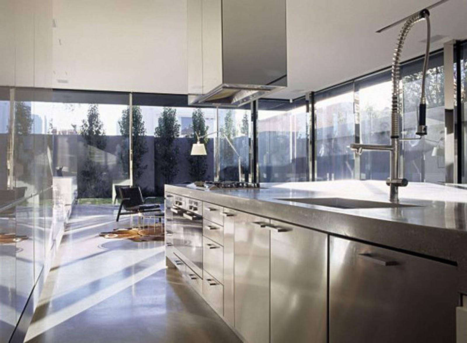 stainless steel kitchen cabinet modern interior designs contemporary design