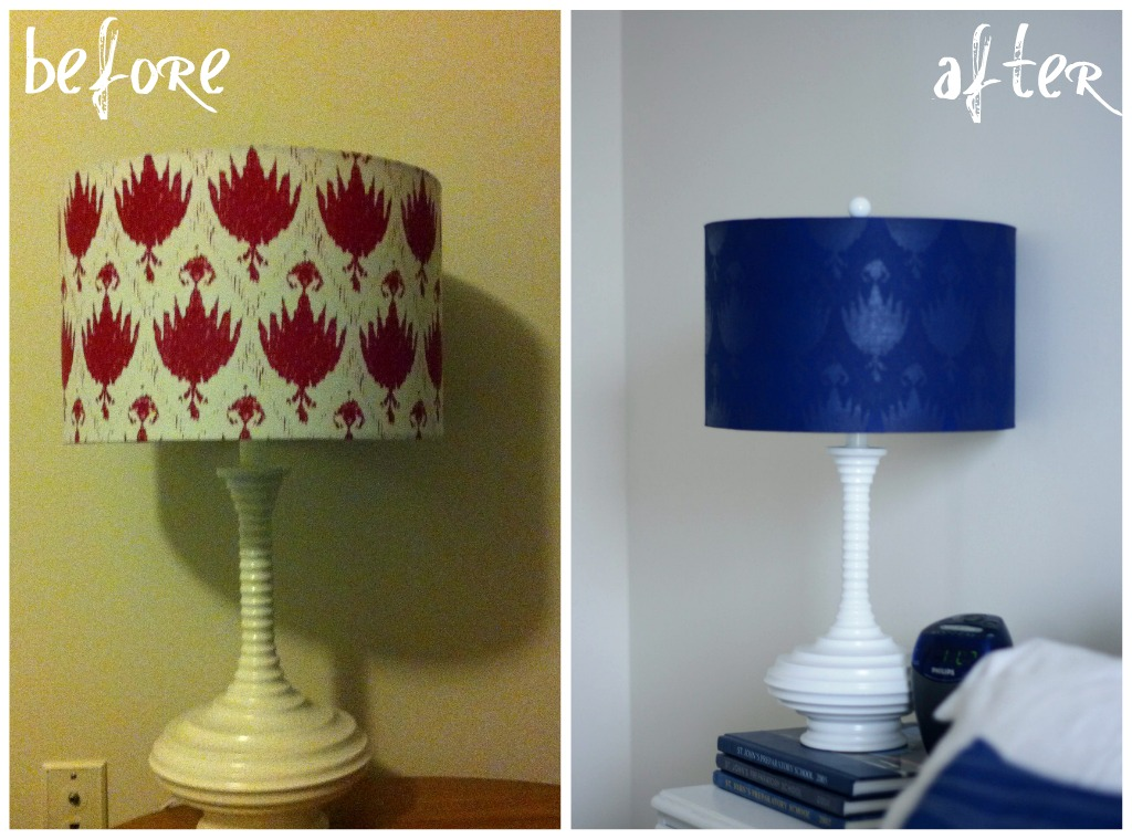 La Belle Vie Diy Spray Painted Lamp Shade