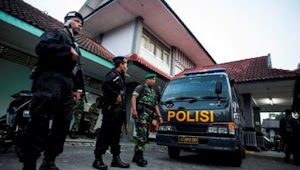 Persipur vs PSIS Puluhan Brimob di Siagakan di Polsek Klambu