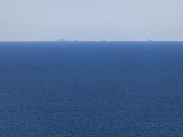 islas columbretes desde mirador oropesa