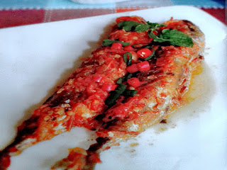 Gambar Resep Ikan Tongkol Bumbu Pedas