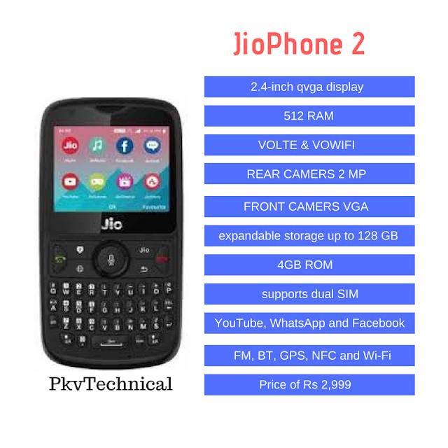 Jio Phone 2 Mansoon offer