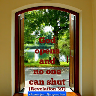 God opens and no one can shut. (Revelation 3:7)