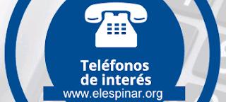 Listado de Teléfonos útiles del Municipio de El Espinar y sus núcleos