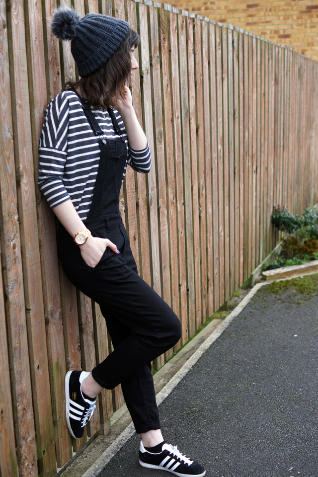 Hello Freckles Dungarees Casual Outfit Adidas Gazelles