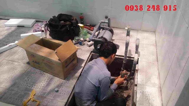 Sửa máy bơm giếng khoan gia đình