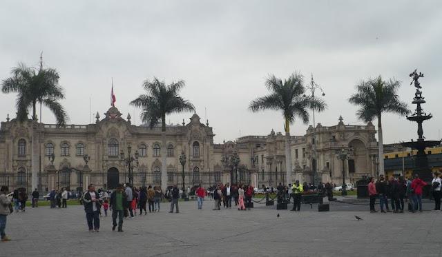 Palazzo del Governo a Lima
