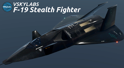 VSKYLABS F-19 Stealth Flighter