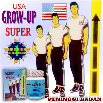 Obat Penambah Tinggi Badan Alami Zenith Grouw Up Super Usa
