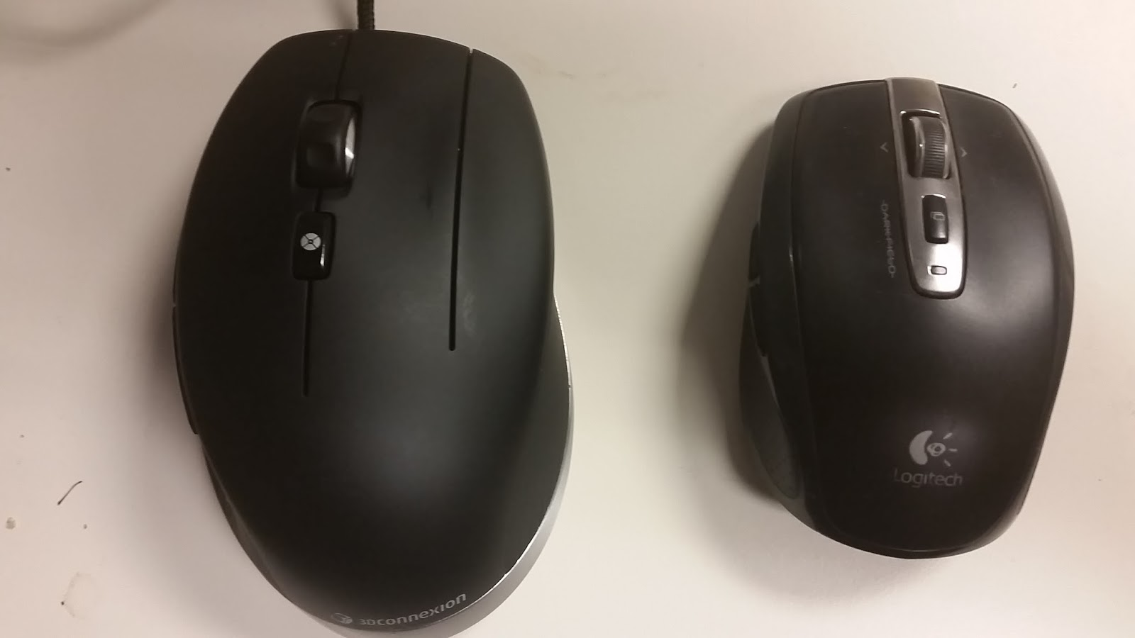 My Test Drive of a 3Dconnexion CadMouse ~ Inventor Tales