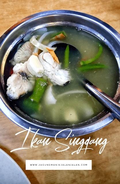 Wisata Kuliner di Kuala Lumpur, ikan singgang