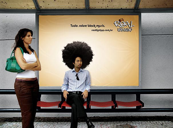 13. Black music all the way: Real Hip Hop - Black Power Ads