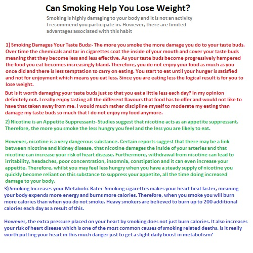 Diets that help you lose weight faster