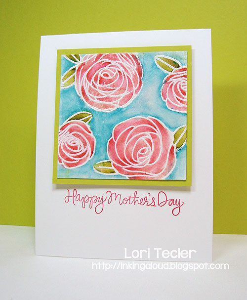Happy Mother's Day-designed by Lori Tecler/Inking Aloud-stamps from Simon Says Stamp
