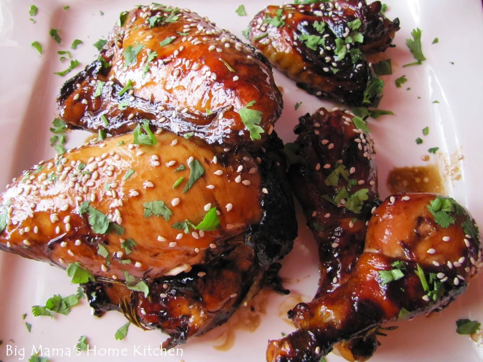 Big Mama S Home Kitchen Sweet N Sticky Chicken