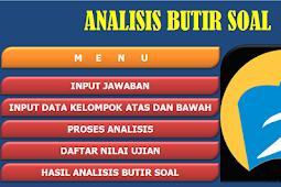 Aplikasi Analisis Butir Soal Pilihan Ganda Kurikulum 2013