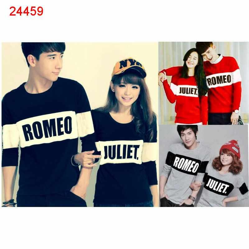 Jual Couple Lengan Panjang LP Romeo Bold - 24459