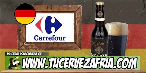Cerveza NEGRA Carrefour
