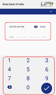 Google Tez UPI Pin