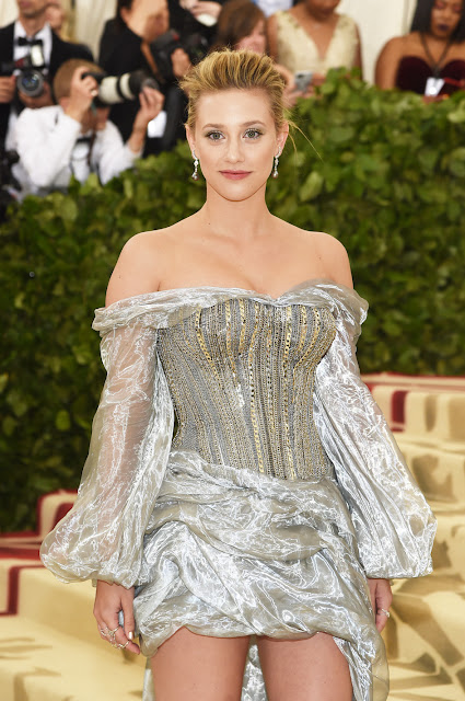 Lili Reinhart wears H&M to The Met Gala