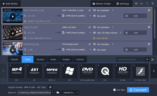 Movavi Video Converter Full Features