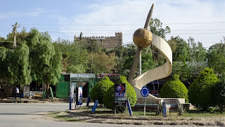 Its the way to the castle in Mekelle