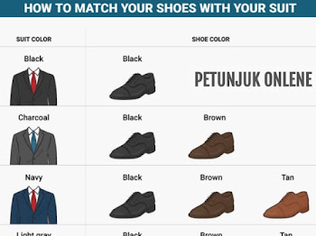 Memilih Warna Jas dan Sepatu agar Matching