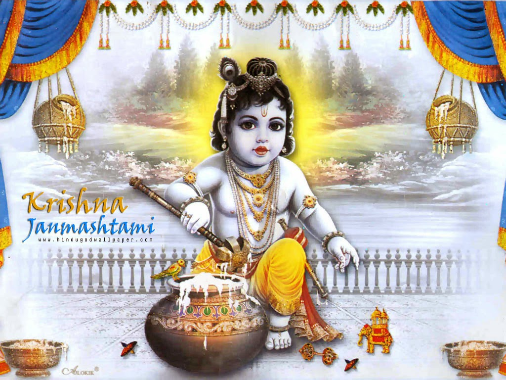 Happy Krishna Janmashtami HD Wallpapers Download