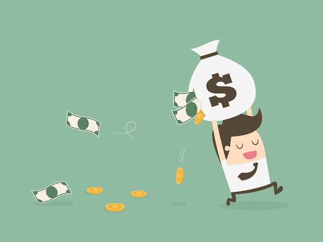 menumbuhkan blog perlu uang