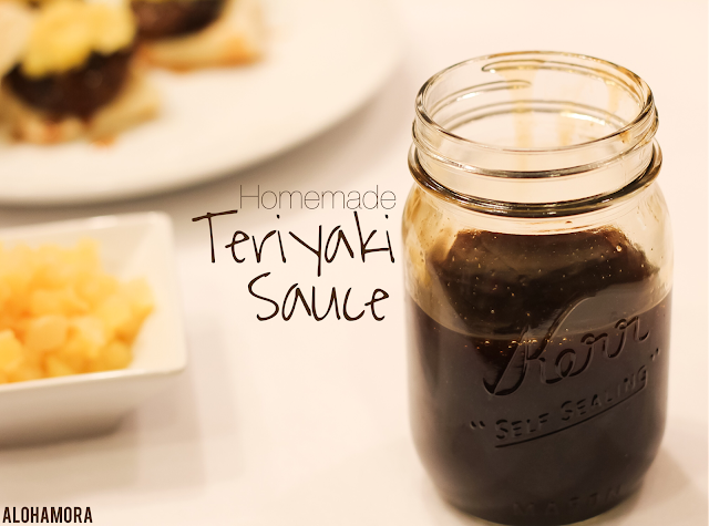 Homemade Teriyaki Sauce, quick and easy to make. Easily Gluten Free using Tamari. Make in 10 minutes, save and use for any and all of your needs. Alohamora Open a Book http://alohamoraopenabook.blogspot.com/