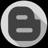 blogger whiteout icon