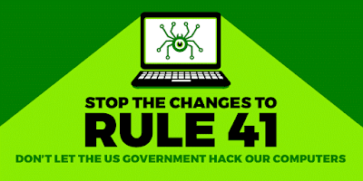 Digital Literacy, Rule 41 & Hacking