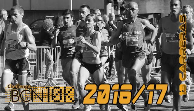 ChallengeBCN10K 2016/17 - 13 carreras
