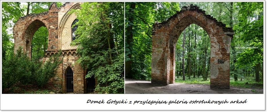 Nieborów, romantyczne ruiny
