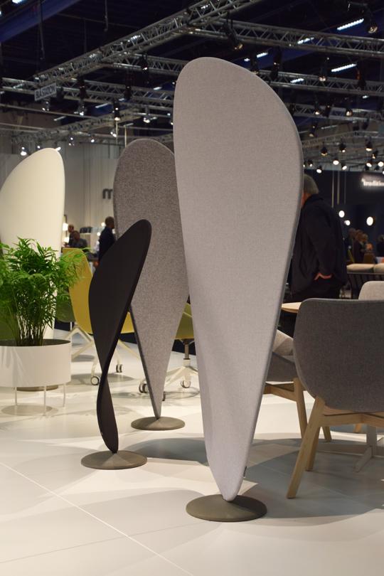 Rumsavdelare Wind av Jin Kuramoto för Offecct | www.var-dags-rum.se