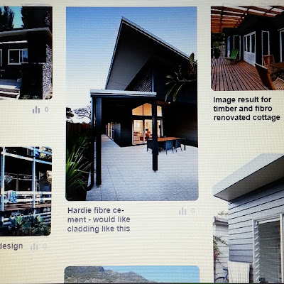 Collection of pictures of browna nd white holiday homes on Pinterest.