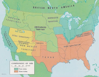 The Compromise of 1850 was designed to resolve divisions over slavery in the territory gained in the Mexican War.