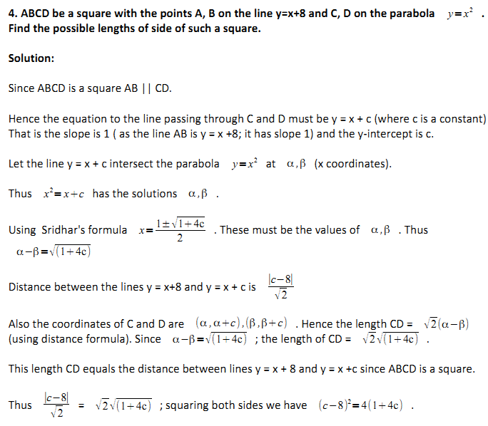 Cheenta Ganit Kendra: ISI 2013 B Math and B Stat Subjective