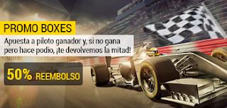 bwin promocion 50 euros F1 - GP de Singapur 17 septiembre